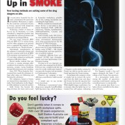 Up in Smoke – Synthetic marijuana used in many Australian workplaces